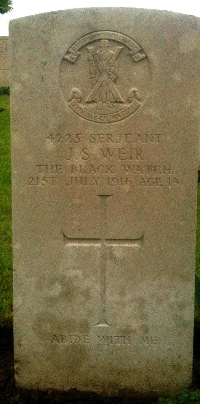 Sergeant John  Weir