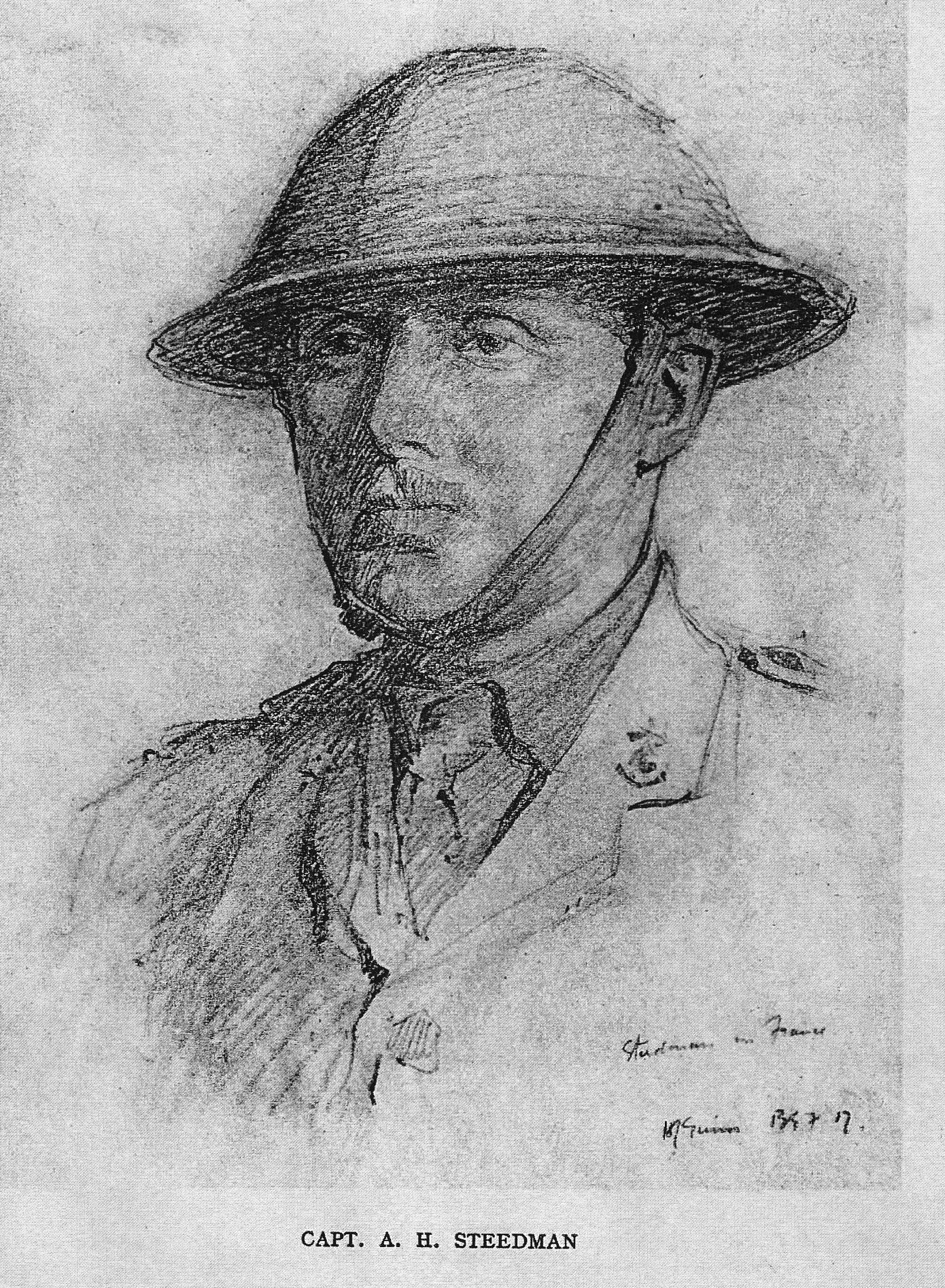 Captain Arthur Steedman