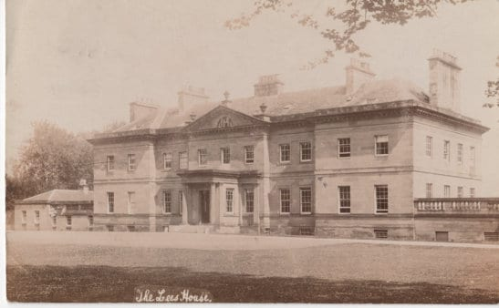The Lees House about 1930