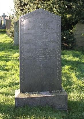 Old Churchyard -  Row 12 -  North - Fairnington/Ingles