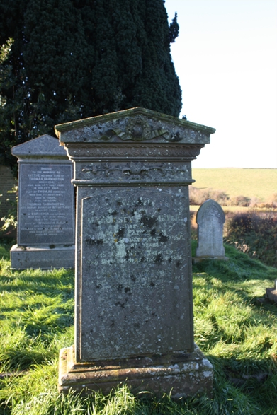 Old Churchyard -  Row 12 -  North - Harbittle/Patterson