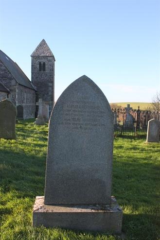 Old Churchyard -  Row 11 -  North - Matthewson/Cockburn