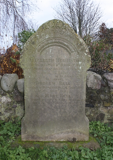 Old Churchyard -  Row 12 - South - Houliston/Bell