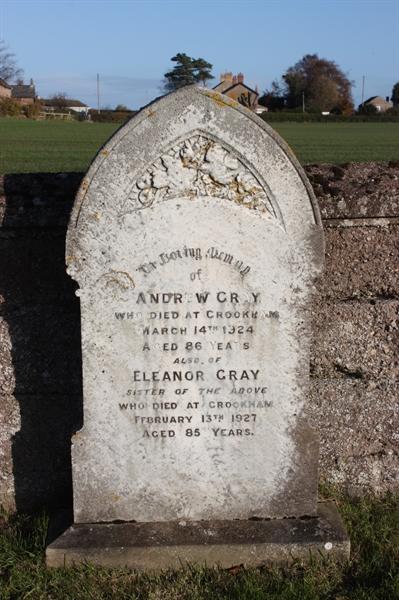 New Churchyard - Row 1 - Gray