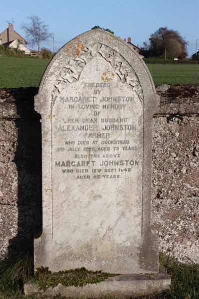 New Churchyard - Row 1 - Johnstone