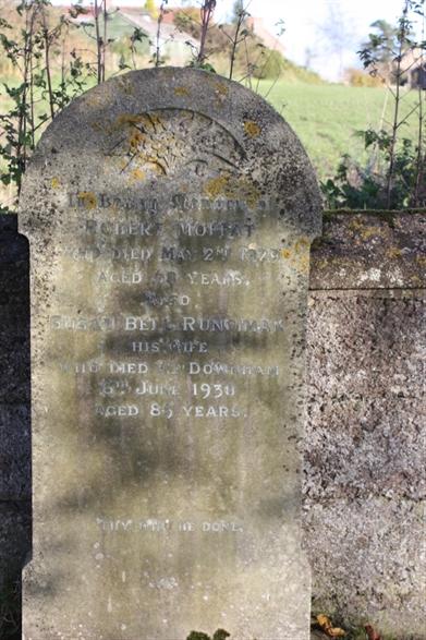 New Churchyard - Row -1 - Moffat/Runciman