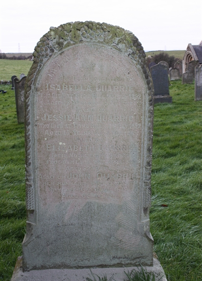 Old Churchyard -  Row 11 -  South - Quarrie