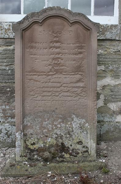 Section A  Left hand side of Church door - 2 - Fair/Fairbairn