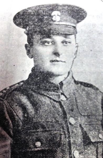 Regimental Sergeant Major Thomas Heslop, M.S.M., M.I.D.