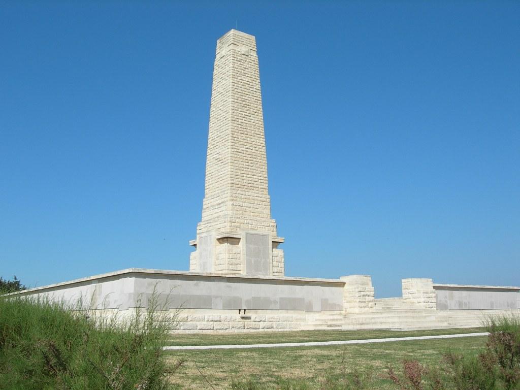 Helles Memorial, Helles, Gallipoli, Turkey.