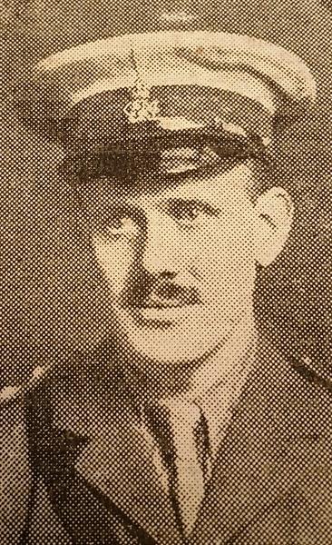 Lieutenant Cecil Fedden