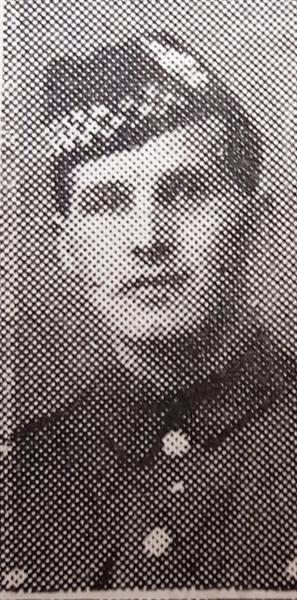 Second Lieutenant James Dowens