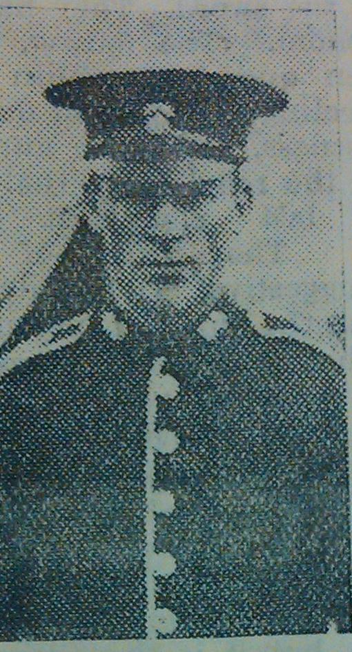 Lance Corporal Thomas Crombie