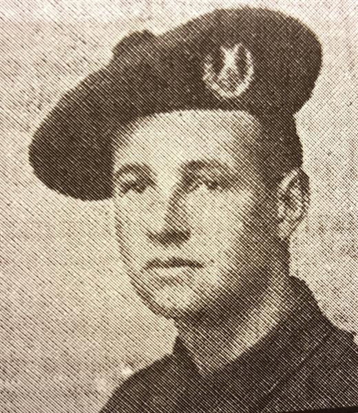 Private Samuel Harvey
