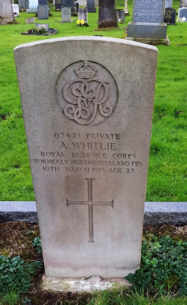 Private Andrew Whitlie
