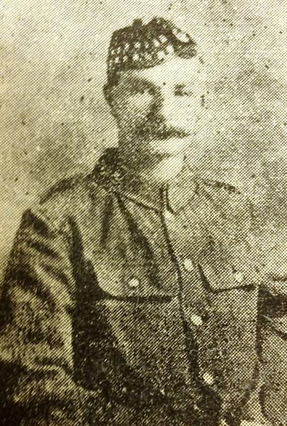 Lance Corporal James Cockburn
