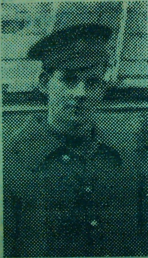 Sergeant George Henry Evans