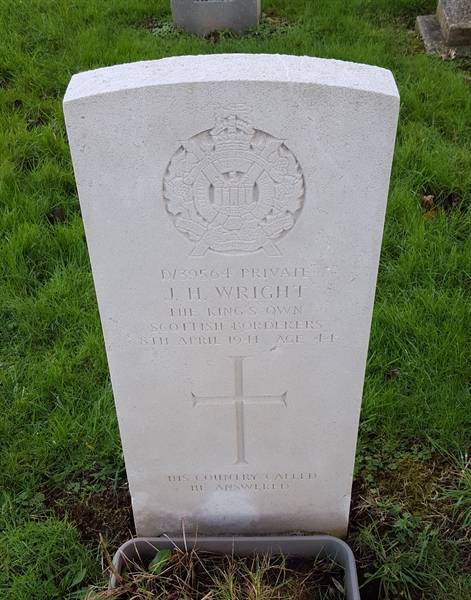 Private James Wright
