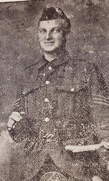 Sergeant William Matthew