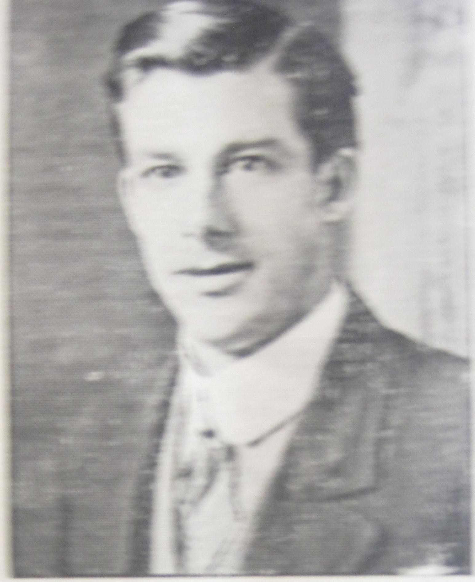 Private Gilbert Burton