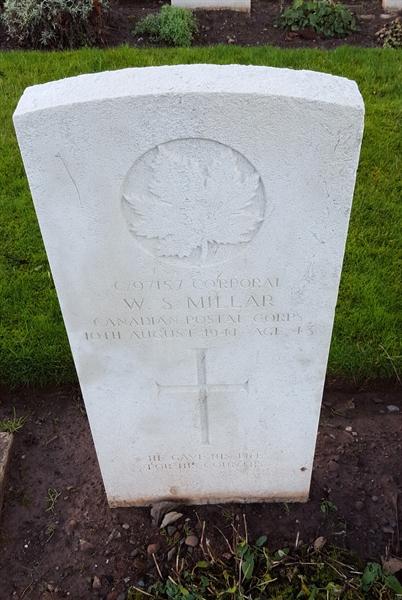 Corporal William Millar