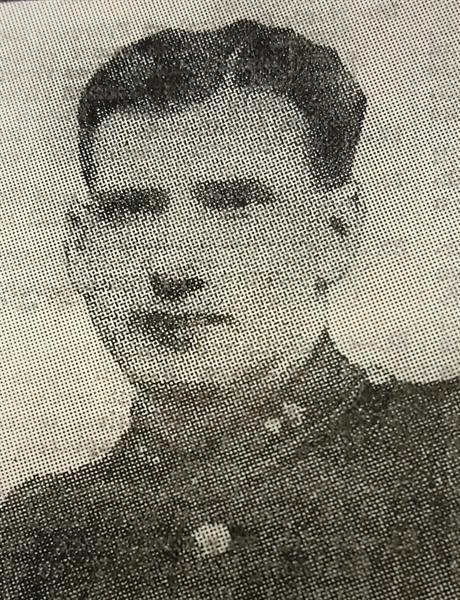 Gunner Peter J.G Brett