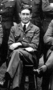 Squdron Leader John Sample, D.F.C.