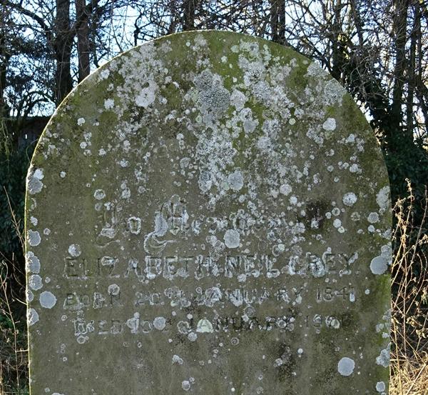 Kirknewton Churchyard Section C Row 4 - 9 -  Gray
