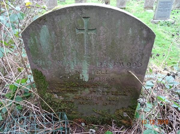 Kirknewton Churchyard Section A  Row 1 - 2 - Strettle