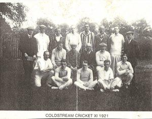 Coldstream Cricket Club 1921