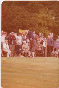 Douglas Bader at the Hirsel Golf Club