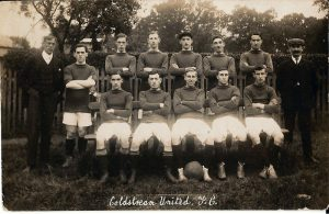 Old football Photograph
