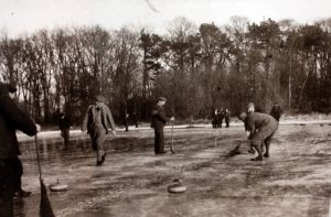 Curling on the Hirsel Lake