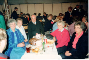 Opening of the 18 holes at the Hirsel Table of members