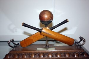 Coldstream Cricket Club Sixes competition trophy (Donated to the club by Lord Home)