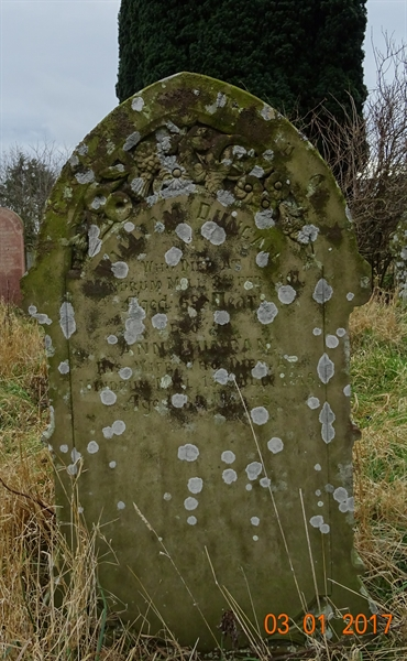 Kirknewton Churchyard Section D Row 9 - 6 - Duncan