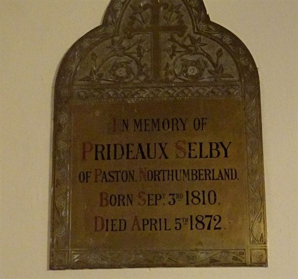 Memorials inside the Church - 7 - Selby
