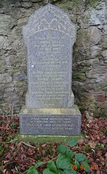 Norham Churchyard Section A Row 1 - 2 - Rule