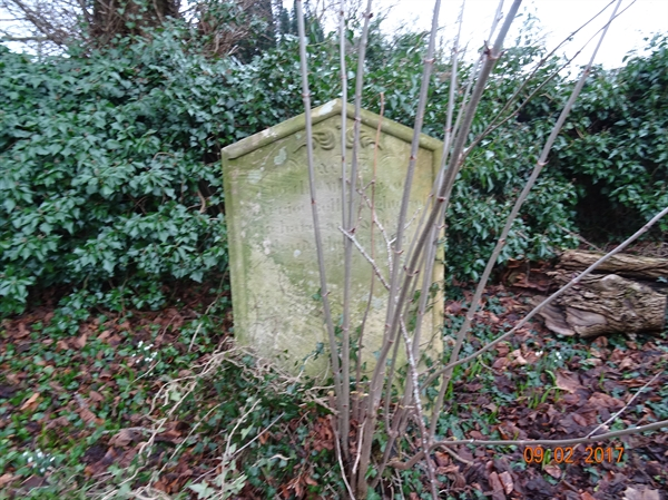 Norham Churchyard Section A Row 2 - 3 Bell