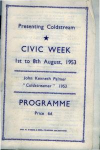 Civic Week programme 1953