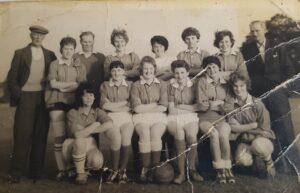 Coldstream Ladies Football Team about 1960
