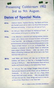 Programme 1952