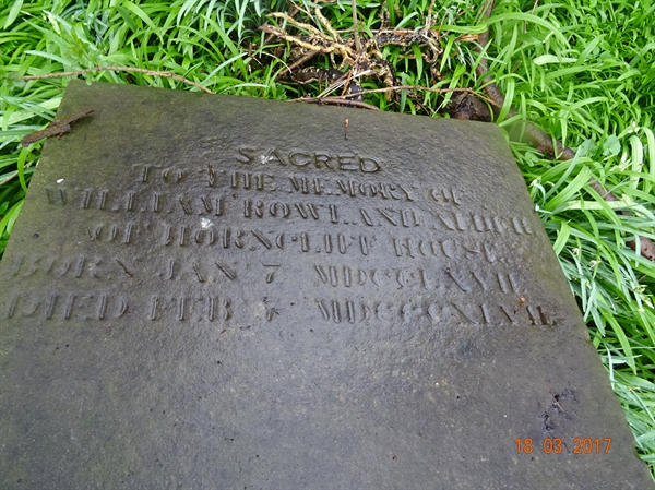 Norham Churchyard Section A Row 2 - 9 - Alder