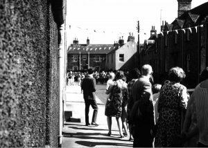 Civic Week 1968 Looking along Leet Street