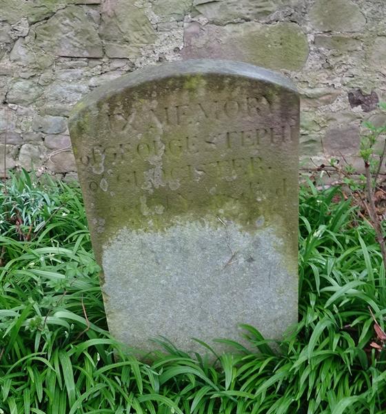 Norham Churchyard Section A Row 2 - 10 - Stephen