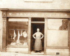 Brydon the Butcher when the shop was in Market Street