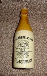 Carmichael & Sons Stone bottle