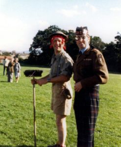 Barry Gold and Will Murray in the Fancy Dress