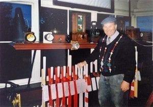 Peter Short the last station master in Norham Station .