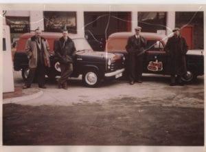 Station Garage -- John Rutherford,  ?  W. Wadell ,?
